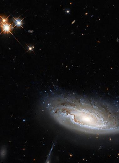 «Хаббл» запечатлел один из самых массивных объектов во Вселенной