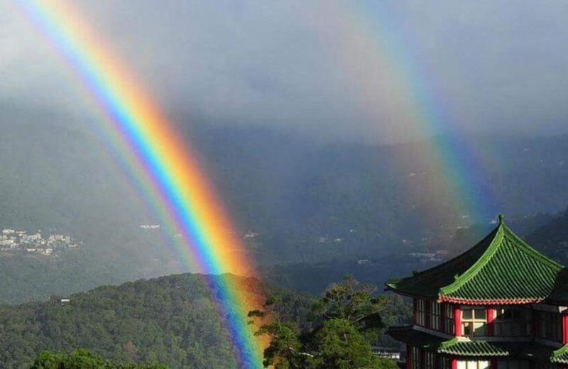 9-часовая радуга в Тайване вошла в Книгу рекордов Гиннесса