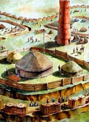 Городище Бозок: на тысячу лет в прошлое