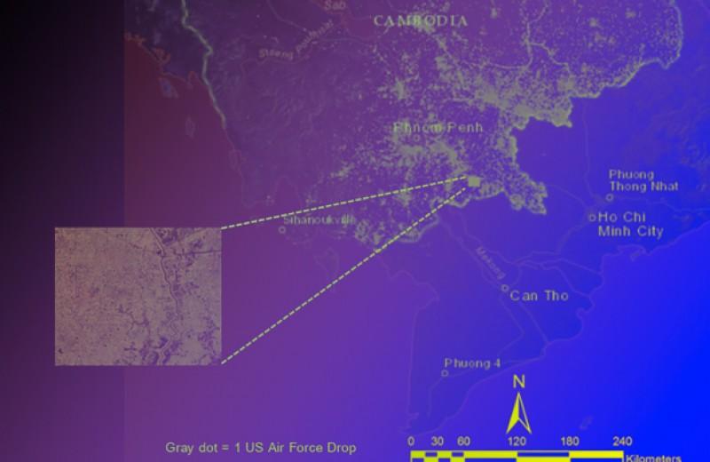 Алгоритм помог сузить район поиска неразорвавшихся бомб с помощью спутниковых снимков