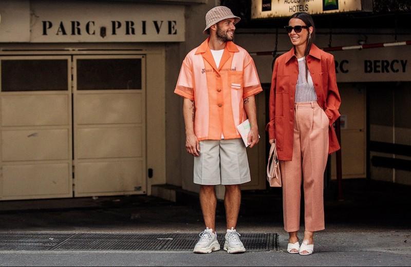 Как носить оранжевый этим летом