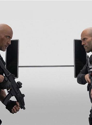 MAXIM рецензирует блестящий, как лысины его героев, боевик: «Форсаж: Хоббс и Шоу»