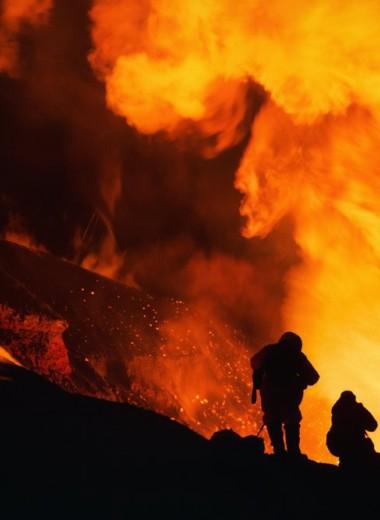 В центре извержения вулкана: страшные истории путешественника