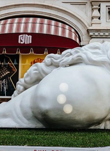 Паблик-арт на Красной площади. Интервью с отцом и сыном Полисскими о современной скульптуре в России