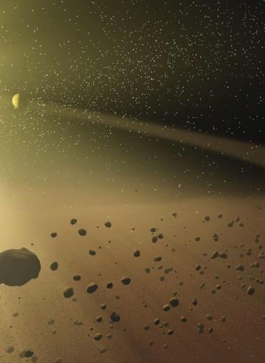 Лучи смерти: как солнечный свет уничтожит астероиды перед гибелью звезды
