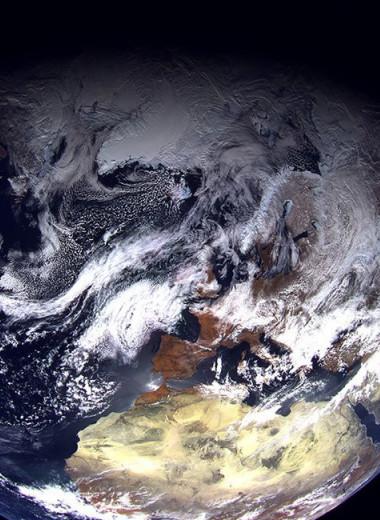 Спутник «Арктика-М» прислал первый снимок с орбиты Земли
