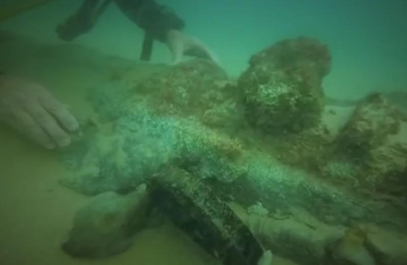 Затонувшее торговое судно найдено у берегов Португалии