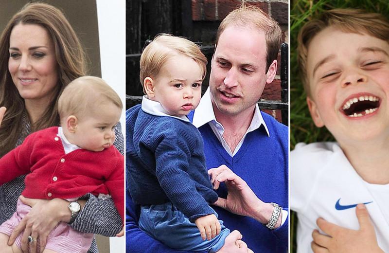 Джордж будет разбивать сердца! Лучшие фото сына Кейт Миддлтон и Уильяма