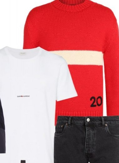 Этой осенью вам нужен красный свитер