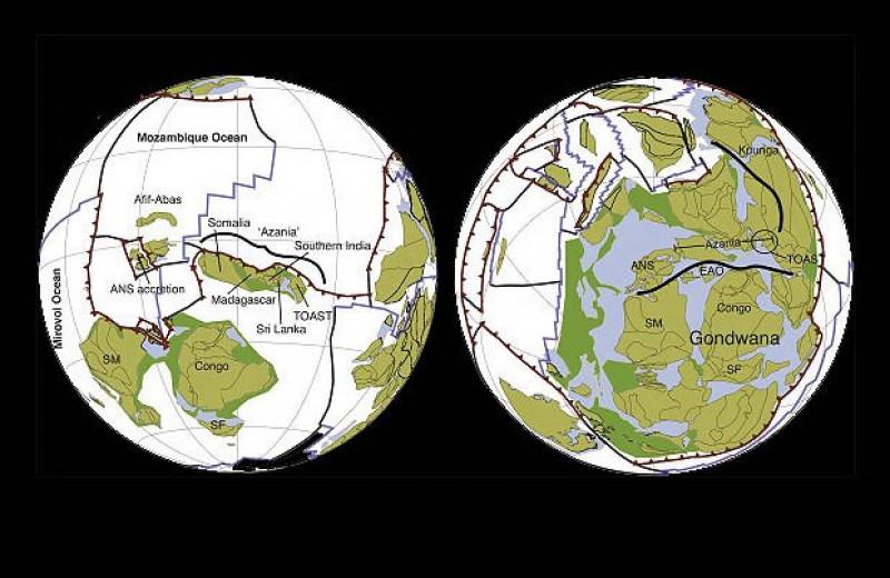 Ученые смоделировали глобальную тектоническую историю Земли за миллиард лет