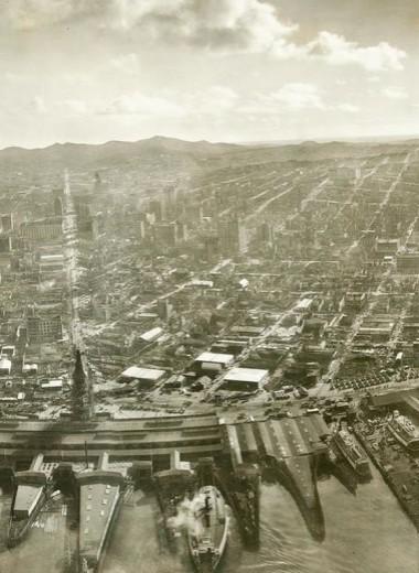 Как снимали панораму более века назад