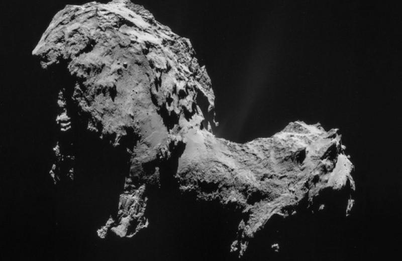 Комета Чурюмова — Герасименко образовалась при скользящем столкновении кометезималей