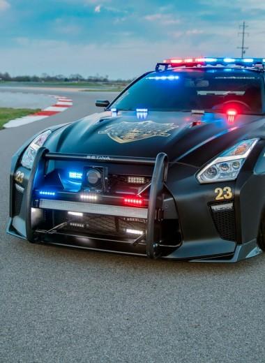 От них не уйти: 10 самых быстрых полицейских машин