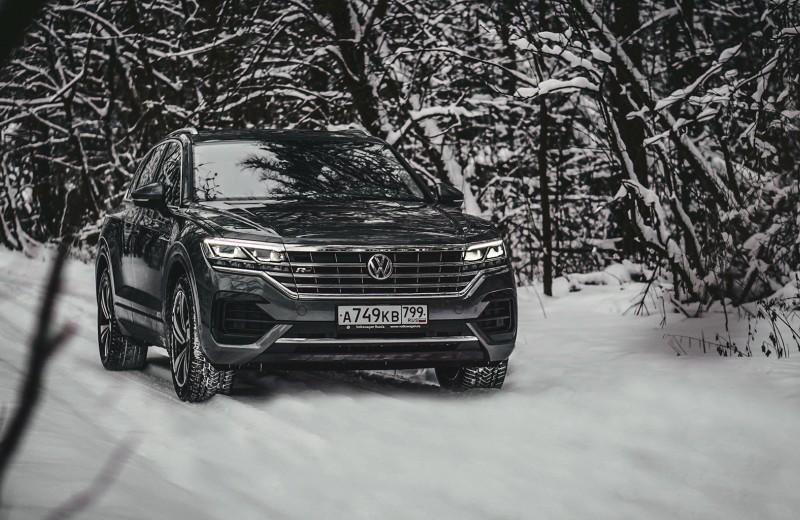 Народный хай-тек: тест Volkswagen Touareg