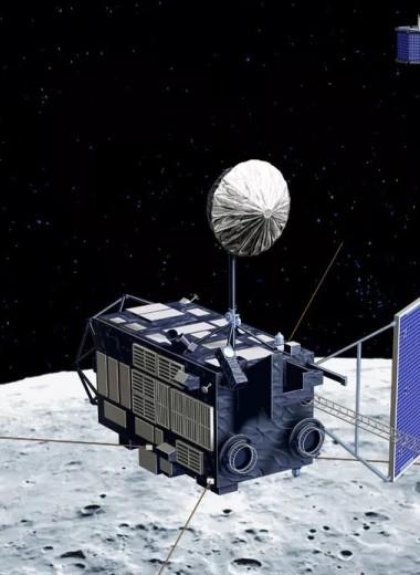 На Луне нашли неожиданно много улетучивающегося углерода