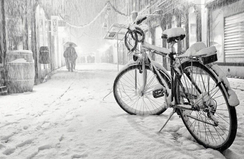 Ездить на велосипеде зимой: 5 простых правил на личном опыте