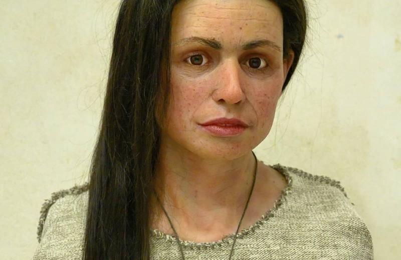 Как выглядела женщина, жившая 7,5 тысяч лет назад