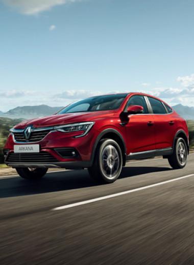 Тест-драйв Renault Arkana