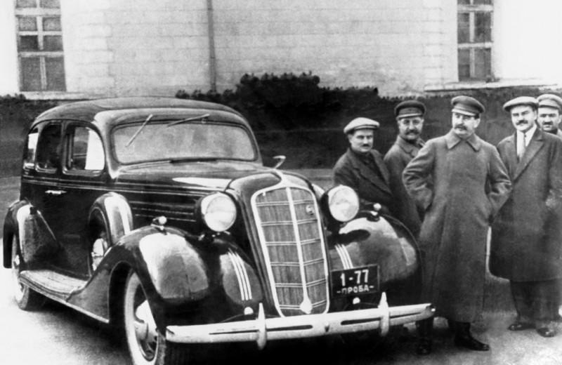 Первый лимузин Страны Советов, или С кого слизали ЗИС-101