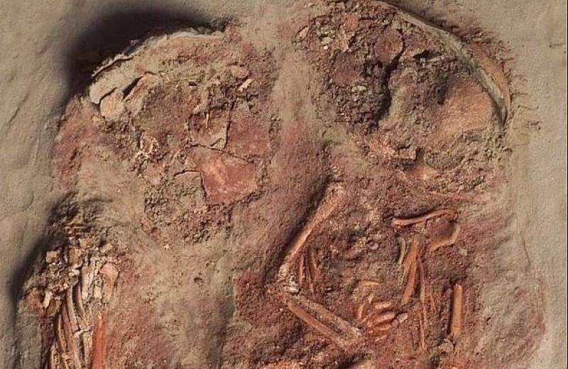 В Австрии нашли останки самых древних близнецов