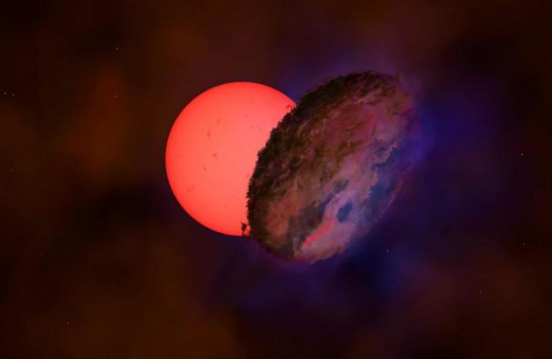 «Что это такое?» В центре Галактики заметили гигантскую мигающую звезду