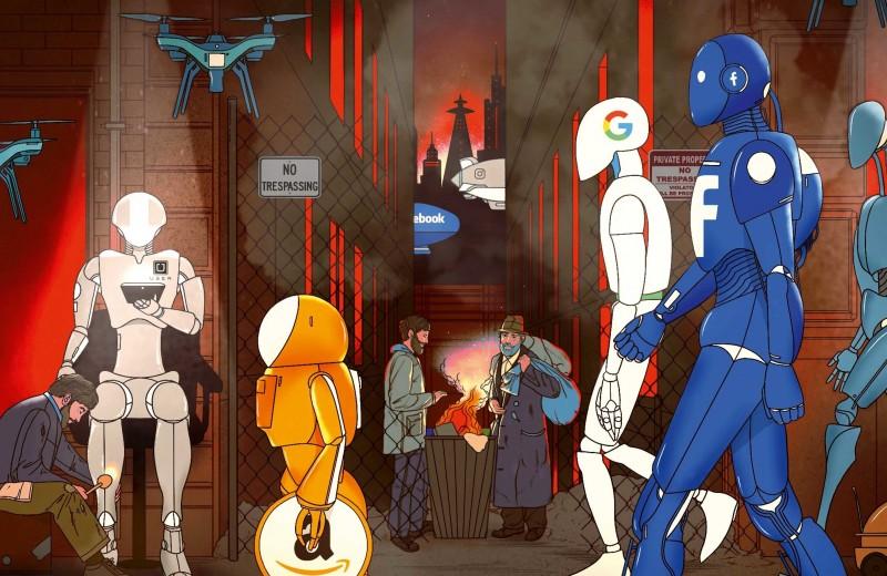 Заключенные в селфи-камере: как интернет превратился в Большого Брата