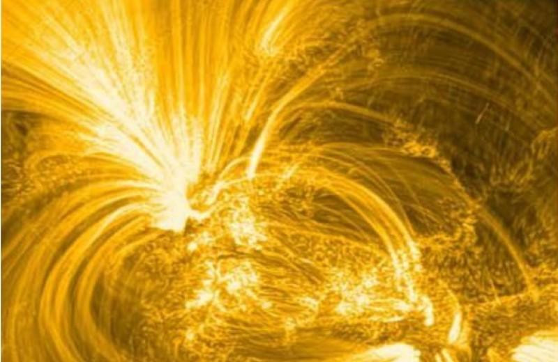 Суборбитальный телескоп разглядел тонкие нити плазмы в корональных петлях Солнца