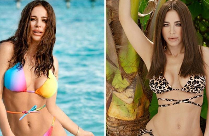 Полуголая красотка с роскошной грудью: лучшие пляжные образы Ани Лорак