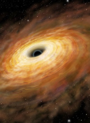 Недавно открытая черная дыра Млечного Пути оказалась подозрительно тяжелой
