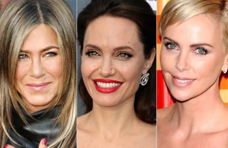 Тогда и сейчас: как выглядели в юности Джоли, Энистон, Терон и другие актрисы