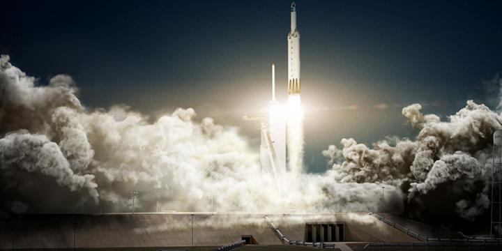 Ближе к звездам: наземные испытания Falcon Heavy прошли успешно