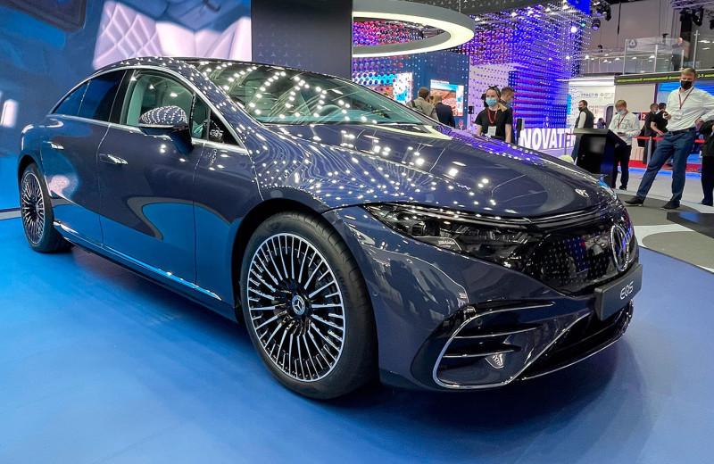 S-класс «на батарейках»: первые впечатления от Mercedes-Benz EQS