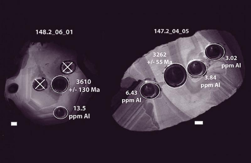 Алюминий в цирконах указал на старт тектоники плит в раннем архее