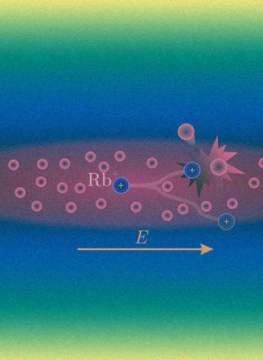 Одиночный ион провели сквозь бозе-конденсат