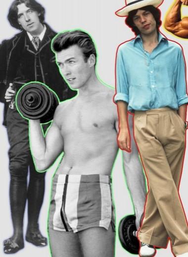 Как менялся идеал мужского тела на протяжении последних 150 лет (5 этапов в картинках)