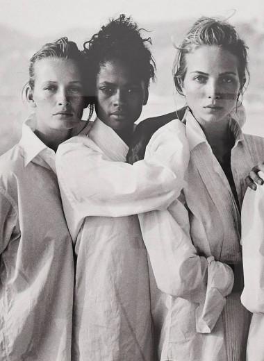 История одной фотографии: Питер Линдберг, девушки в мужских рубашках