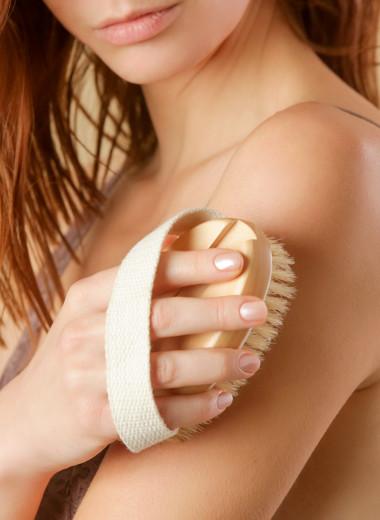 Как правильно делать сухой массаж щёткой