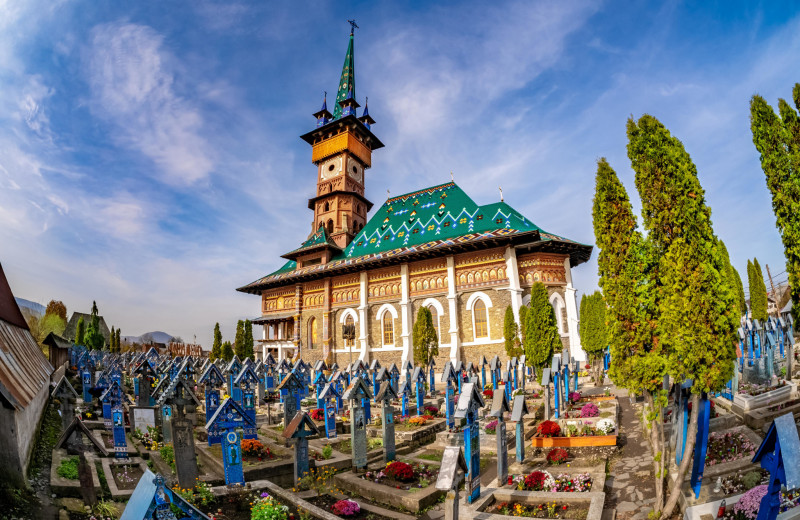 Румынское кладбище: картинки на память