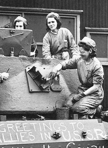 Иностранные танки в армии СССР