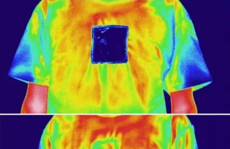Двусторонняя ткань охладила и согрела имитацию человеческой кожи