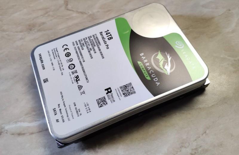 Тест суперемкого жесткого диска Seagate BarraCuda Pro: 14 Тбайт хватит надолго