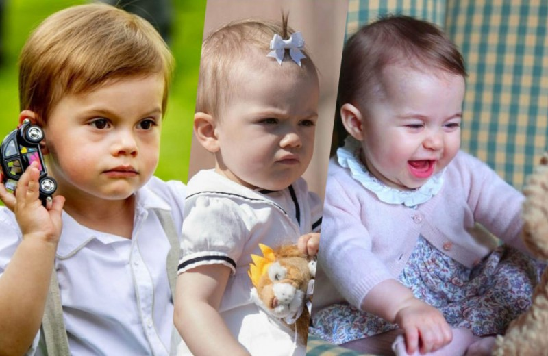 Без планшетов: во что играют королевские дети?