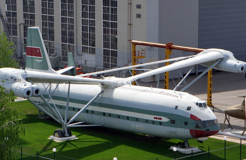 B-12: вертолет-гигант, который не летал