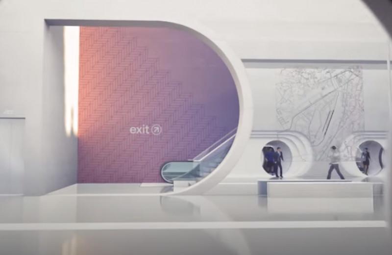 Как выглядит будущее в представлении Virgin Hyperloop: видео