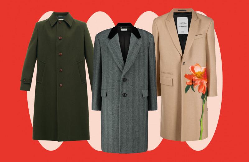 Гид по мужским пальто: чем отличаются и как называются разные модели
