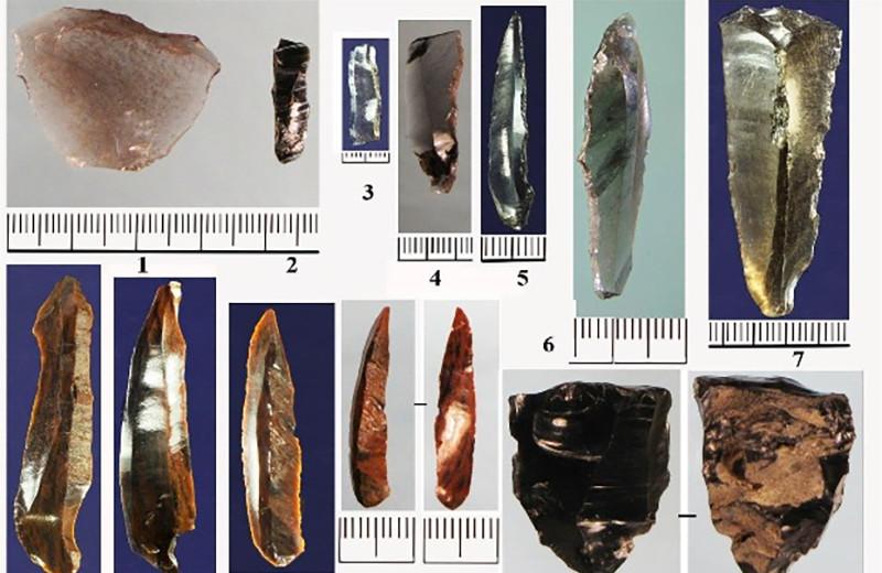 Артефакты из Мезмайской пещеры указали на широкую сеть обмена в эпоху верхнего палеолита