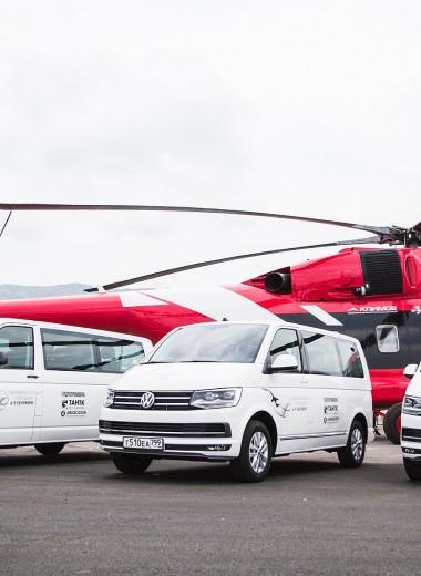 """""""Volkswagen Коммерческие автомобили"""" на выставке «Гидроавиасалон-2018»"""