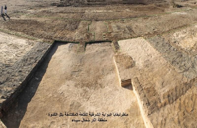 В Египте найдена военная крепость XXVI династии