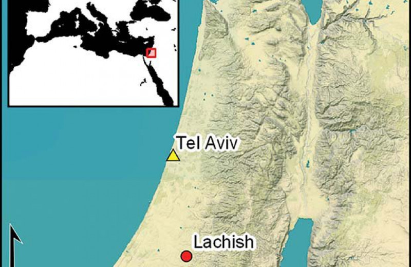 В Израиле нашли письмена первого алфавита