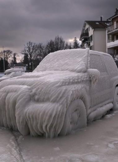 9 худших вещей, которые ты можешь сделать с автомобилем зимой